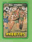 1978 SOUTH SYDNEY RABBITOHS RUGBY LEAGUE CARD #53 BILL ANNABEL