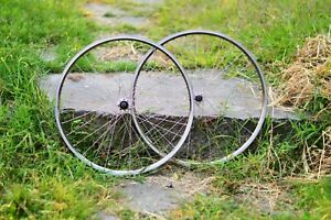 Vintage Mavic 217 SUP 26in Wheelset Deore XT Hubs | Good Condition