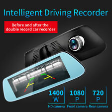 "8"" 4G Car Rear View Mirror DVR Camera Android 5.1 GPS WIFI FM Video Recorder"