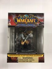 World of Warcraft Gioco minitures, (WOW) 2009 questgiver FLOTTA MASTER seahorn