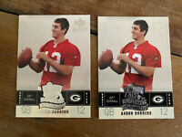 (2) 2005 UPPER DECK KICKOFF AARON RODGERS RC GREEN BAY PACKERS ROOKIE MINT LOT