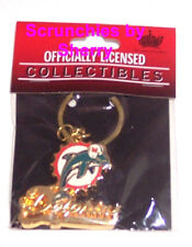 Miami Dolphins Gold Keychain Key Ring  NFL Football Key Chain