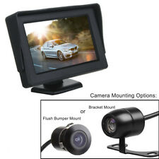 4.3 Inch 12v In Car Dash Monitor Screen with Rearview Reverse Parking Camera Kit