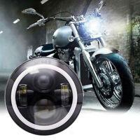 """For Kawasaki VN Vulcan 500 750 800 900 1500 7"""" INCH LED Headlight Projector DOT"""
