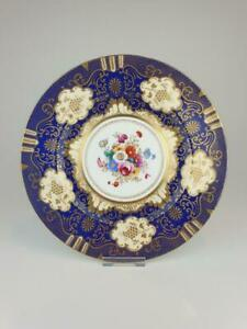 Good Crown Staffordshire Cabinet Plate A13727