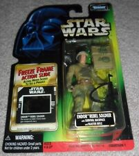 STAR WARS FREEZE FRAME: ENDOR REBEL SOLDIER with SURVIVAL BACKPACK & BLASTER