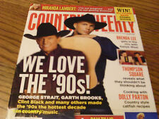 Garth Brooks George Strait Cover Country Weekly Magazine August 2013