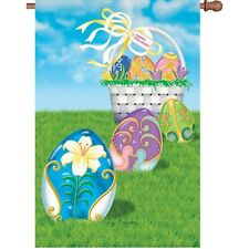"Easter Egg Hunt House Size (28"" x 40"" Approx) Flag Pr 52821"