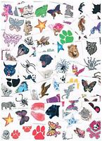 Bulk Kids Temporary Tattoos - Party Favours - lots of 100,150,200,250