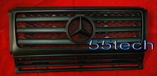 Mercedes G Class W463 Grille Grill G500 G55 90~08 AMG Matt Black Grill ( MBK)