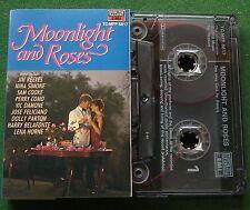 Moonlight and Roses Sam Cooke Nina Simone Jose Feliciano + Cassette Tape TESTED