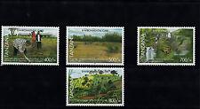 Tanzania 2007 MNH Environmental Care 4v Set Plants Trees Shinyanga Kihansi Falls