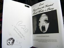 # 3 of 20 Virgin Print Lost Pages from the Twisted Mask Makers Diary Book Legend