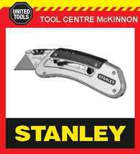 STANLEY 10-810 QUICKSLIDE RETRACTABLE UTILITY / POCKET KNIFE WITH BELT CLIP
