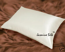 Jasmine Silk Pair Pure Silk Pillowcases Pillow cases - Ivory