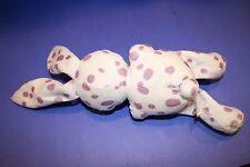 "White Lavender EASTER EGG BUNNY RABBIT 10"" Plush Loomco Stuffed Animal Soft Toy"