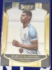2016-17 Panini Select Terrace Marcus Rashford #77 Rookie England Soccer