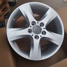 4x Silver 5 Spoke Alloy Wheels 17x7 5x120 et47 72.6 | BMW