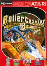 ROLLERCOASTER TYCOON 3 GOLD Neuwertig