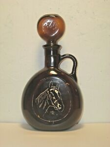"""1969 Old Fitzgerald """"MAN O' WAR"""" Liquor Decanter in Excellent Condition"""