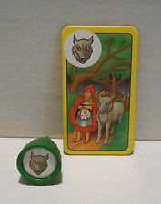 Ravensburger ENCHANTED FOREST Board Game Replacement RED RIDING HOOD Card & Tree