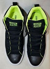 Converse Men's All Star CT Street Mid-Top Black/White/Volt Sneakers-Asst Sizes
