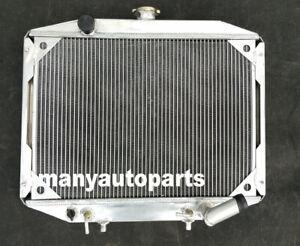 2 Row Aluminum radiator For Mitsubishi Delica Express L300 Starwagon 1986-2007