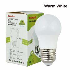 6 Pack 3W G45 LED Light Bulbs Equivalent to 25W E26 base Warm White 3000 Kelvin