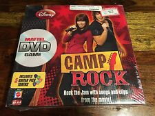 New in Package - 2008 Disney Camp Rock DVD Board Game from Mattel