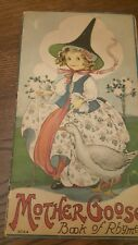 1916 STRECHER Litho MOTHER GOOSE Book of Rhymes by MARGARET EVANS PRICE-USA