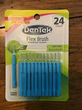 DenTek Flex Brush Interdental Cleaners Extra Tighy 24 Count (1 Pack)