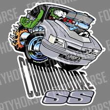 Holden Vinyl Stickers - VK Commodore Group 3 Silver
