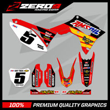 HONDA CR125-250 2004-2007 CRF250-450 2004-2020 MOTOCROSS MX GRAPHICS KIT LAROCCO