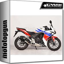 SPARK ESCAPE KONIX APROBADO ACERO NEGRO HONDA CB 500 X 2013 13 2014 14 2015 15