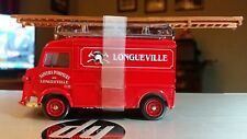 Matchbox Models of Yesteryear 1947 Citroen Type H Fire Van 1:43 Scale,#YFE13-NIB