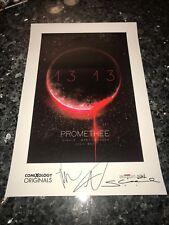 PROMETHEE 13:13 Promo Poster 2018 NY COMIC CON Signed DIGE,MARTINBROUGH,JOCK!