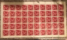 Magyar Posta Stamp 1963 40f (Batsduyi Fduos) Sheet Of 50 Unused