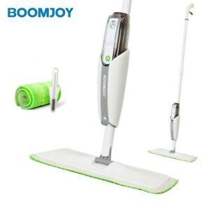 BOOMJOY Kleena Spray Mop Flat Floor Mop Wipe 360 Swivel Mop Super Cleaning P4