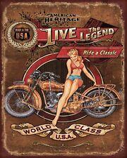 Super Chevrolet Service Voiture américaine garage atelier plaque métal étain signe 1746