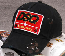 New Dsquared Distressed Brothers DSQ2 Dsquared2 Baseball Cap FREE Ship