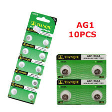 10PCS AG1 SR621 LR621 364 164 1.5V Alkaline Button Coin Cells Battery For Watch