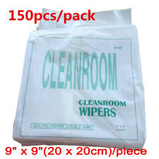 150pcs 9 X 9 Ving Parts Cleanroom Wiper Dustless Non Woven Cloth For Printers