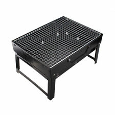 Outdoor Camping Portable Foldable Charcoal BBQ Grill Hibachi Picnic Barbecue