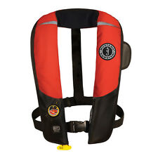 Mustang Deluxe HIT Automatic Inflatable PFD Life Vest Black/Red MD3183