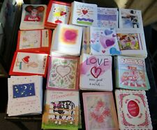 Assorted Lot of 200+ Valentines Day Greeting Cards.