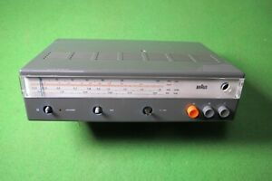 BRAUN Transistor Kofferradio Dieter Rams T 520 für Bastler Ersatzteilträger