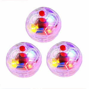3PCS Ghost Hunting Motion Light Up Balls Flash Paranormal Equipment Pet Toy AU/