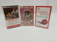 Nat King Cole Cassette Tapes Lot of 3 Christmas Is For Children Christmas Song