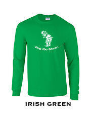 269 Pog mo Thoin Long Sleeve hippy funny patricks day clover drink college cool