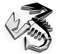 SCORPIONE AUTO MOTO emblem badge sticker adesivo 3d metallo SCORPION